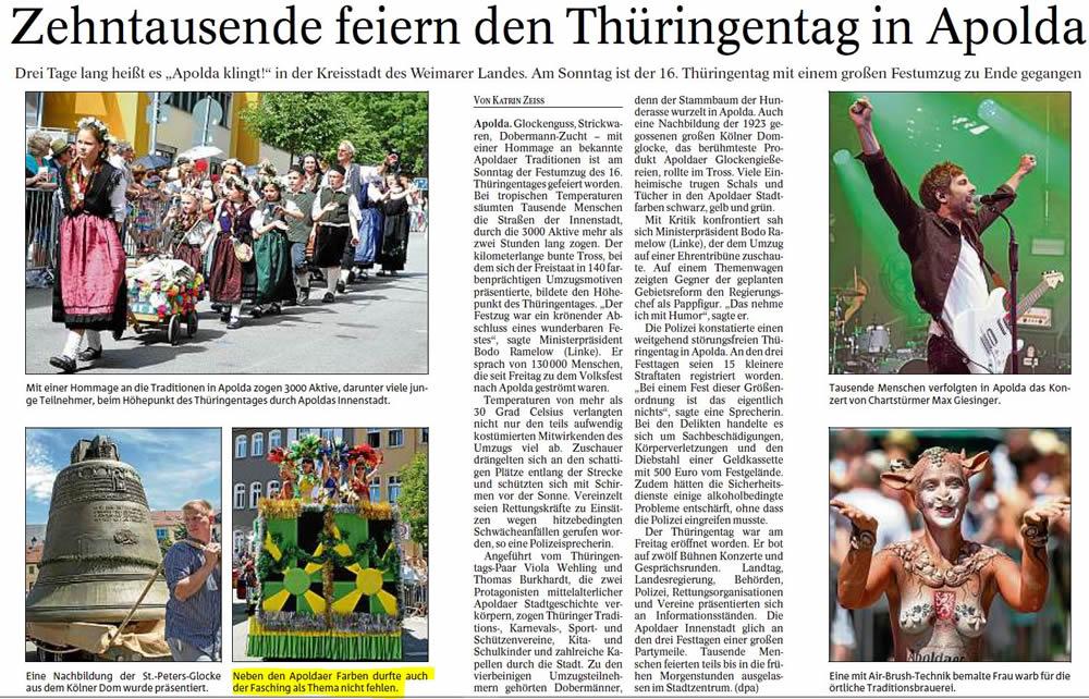 Pressenbericht - TA_12.6.2017_Festumzug